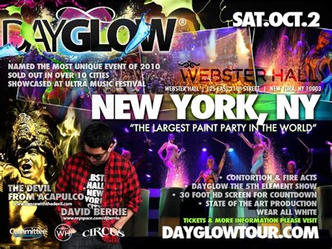 glow in the paint nyc day glow the largest paint in the world at webster