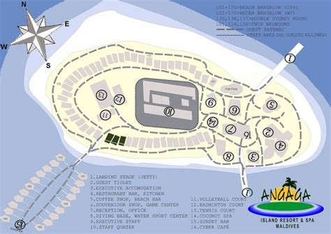 Room Layout Generator island map picture of angaga island resort amp spa angaga