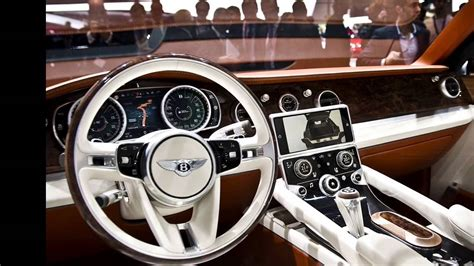 Bentley Suv Interior by 2016 Bentley Bentayga Luxus Suv Exterior And Interior