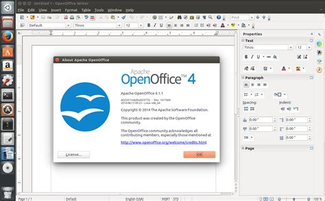 How To Install Openoffice On Ubuntu | how to install apache openoffice 4 1 1 on ubuntu and debian