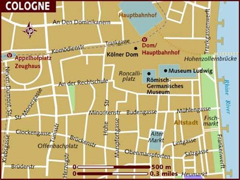 map of koln germany map of cologne