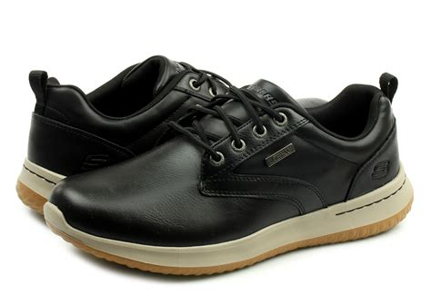 skechers shoes delson antigo  blk  shop