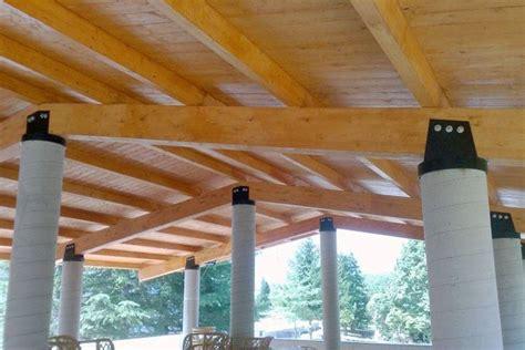 tettoia legno lamellare tettoie in legno pergole tettoie giardino le migliori