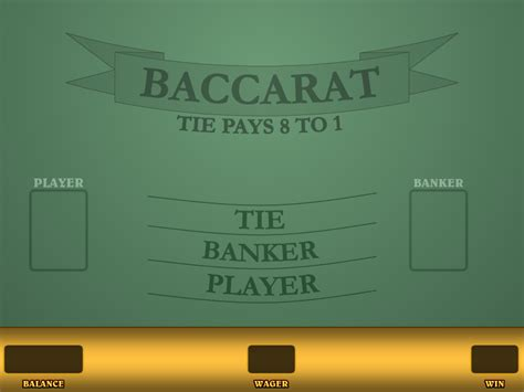 baccarat game play    real money wizard  odds