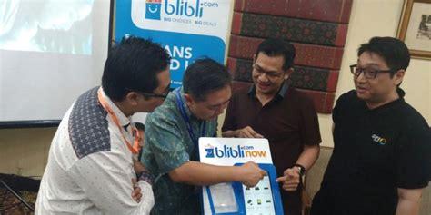blibli now blibli com luncurkan aplikasi now di gelaran indocomtech