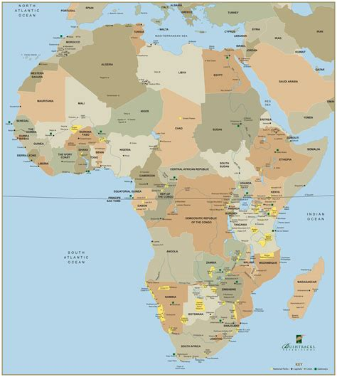 maps 4 africa free map of africa free large images