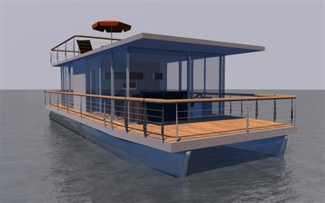 Unique House Floor Plans by Houseboat Quot Diy Quot 12m Houseboat Waterbus