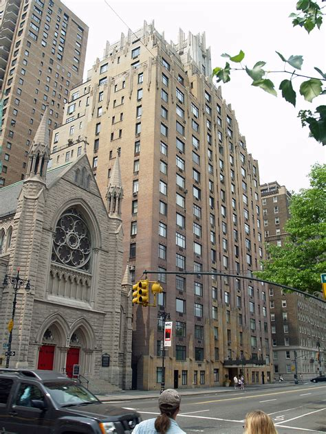 Apartment Building Used In Ghostbusters 55 Central Park West