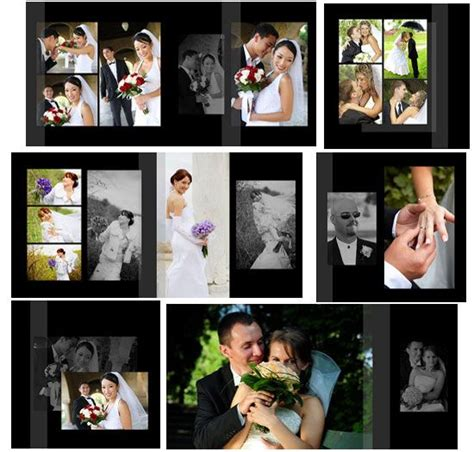 107 Psd Wedding Templates Photoshop Overlays Actions And Templates Pinterest Wedding Lightroom Wedding Album Templates