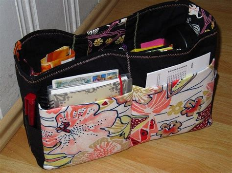 tote bag pattern with dividers purse organizer tutorial handbag bag and sewing projects