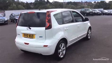 nissan note 2010 nissan note n tec white 2010 youtube