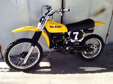 1978 Suzuki Rm 250 1978 Suzuki Rm250 Ca Floater Suzuki Rm Vintage
