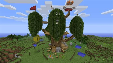 Adventure House by Adventure Time Treehouse Minecraft Www Pixshark