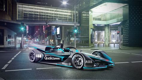 New Formula E Electric Cars Look from the Future   The