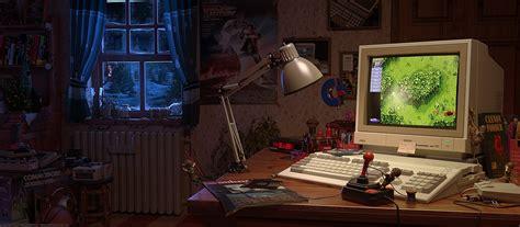 amiga retro window computer joystick ls