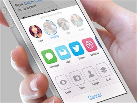 app design zane ios7 airdrop share redesign by zane david dribbble