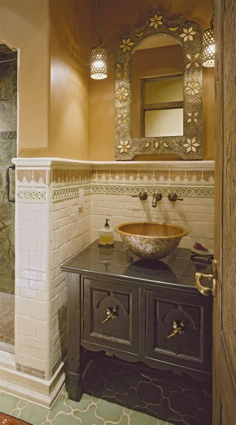 custom vanity cabinet powder room tilde design studio