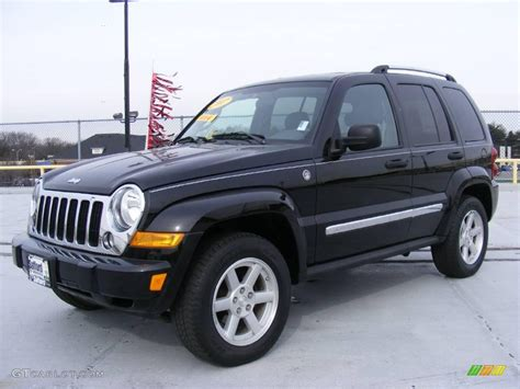 black jeep liberty 2005 2005 jeep liberty black 200 interior and exterior images