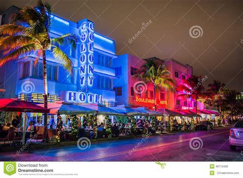 christmas lights miami 2015 miami beach hotels editorial stock photo image of miami