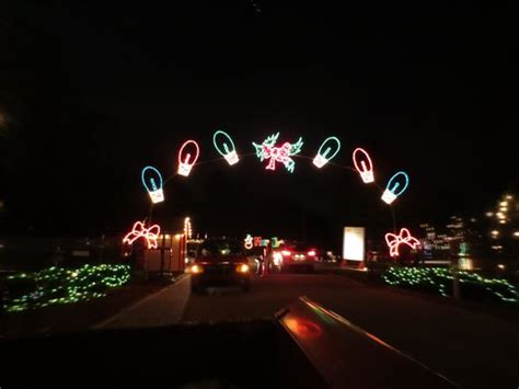 christmas lights picture of saluda shoals park columbia