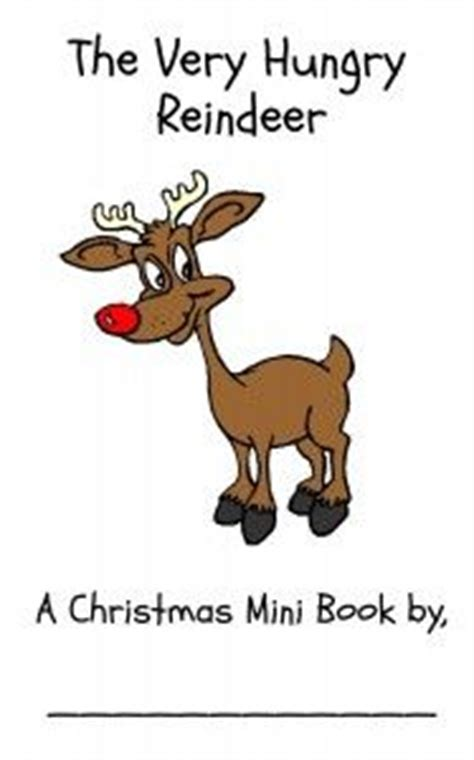 printable reindeer story 1000 images about free printable mini books on pinterest