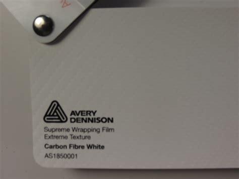 Carbon Folie Zuschnitt by Avery Supreme Carbon Fibre White Ab 27 13 M 178 Zuschnitt