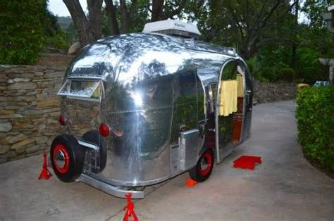 airstream awning for sale 1961 airstream bambi 16 with air and awning trailer
