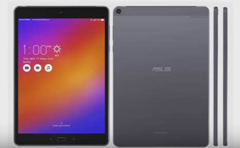 asus zenpad z10 tablet with 9.7 inch display: release date