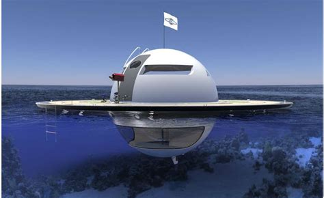 round saucer boat off the grid ufo boat is out of this world