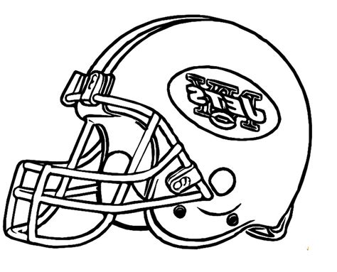 jets helmet coloring pages football helmet new york jets coloring pages 492226