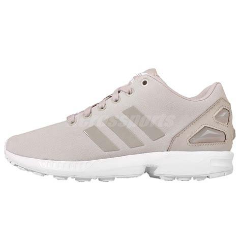 Adidas Zx Flux Torsion Made In Import Greey adidas originals zx flux w grey white beige womens