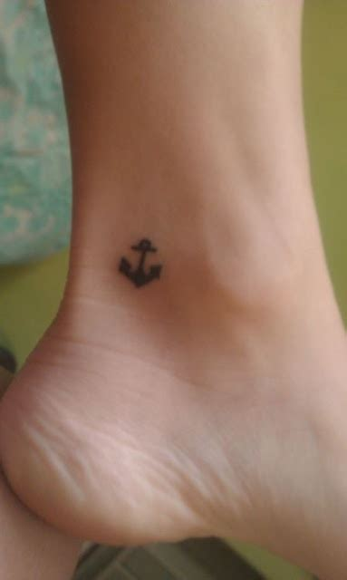 small anchor tattoo designs small foot anchor design for the home