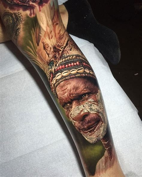 these hyperrealistic tattoos look like photos printed on