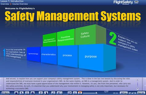 safety management system template sms for aviation professionals flightsafety international