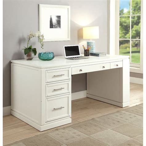 white modern office desk rc willey furniture