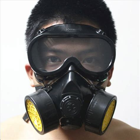 Masker Goggle vktech industrial gas chemical anti dust respirator mask