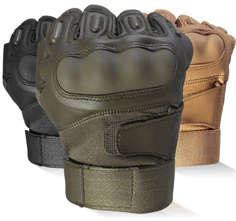 Glove Tactical Bikers Paintball Airsoft Impact Half top 8 best paintball protective gloves