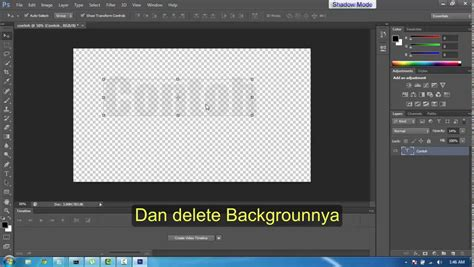 tutorial photoshop baju transparan tutorial cara membuat text transparan menggunakan