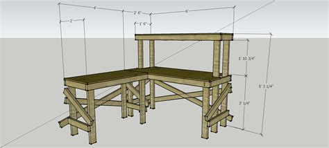 100 bench plan view cus space plans u2014 second stage landscape design tips on ideas be plans for workbench wall mounted folding workbench