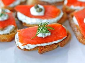 smoked salmon crostini easy lox appetizer recipe