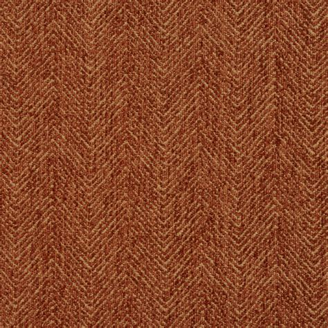 Upholstery Fabric Orange by Curry Coral Orange Plain Chevron Tweed Upholstery Fabric