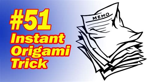 Origami Magic Trick Revealed - origami magic trick 28 images origami magic kit