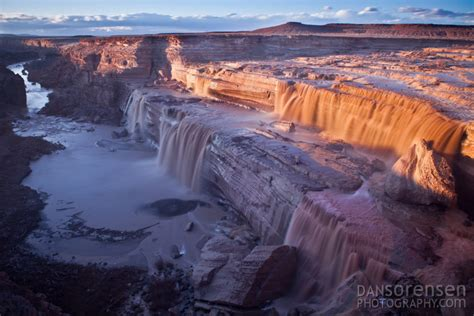 Grande Fall grand falls arizona dan sorensen photography
