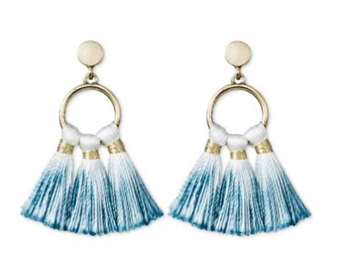 Anting Ombre Tassel Earrings small budget crushes 05 02 17 momadvice