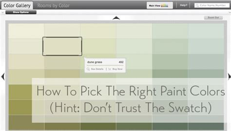 this not that finding the right paint colors house