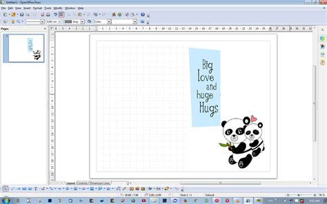 Open Office Card Template by Openoffice Greeting Card Template Wblqual