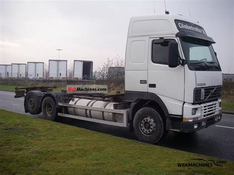 2000 volvo truck models volvo fh 12 fh 12 460 2000 swap chassis truck photos and info