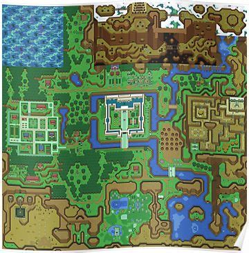 legend of zelda map poster quot the legend of zelda a link to the past map quot posters by