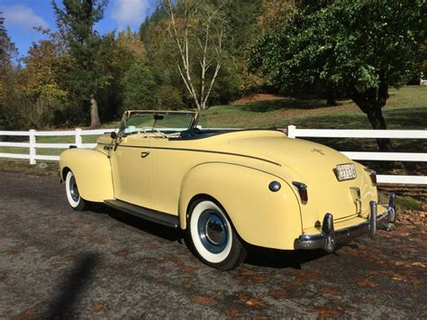 chrysler  yorker convertible  sale