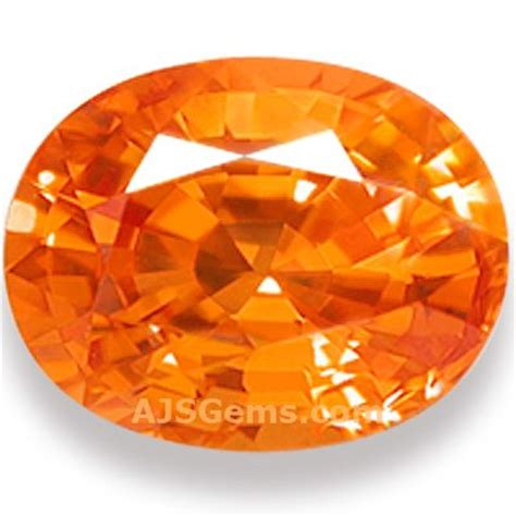 mandarin garnet spessartite gemstone information at ajs gems
